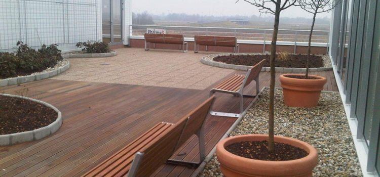 Vrt, polje lavande ili golf igralište – na krovu