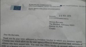 EK i kervatin dopis