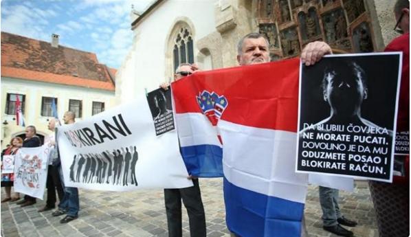 Blokirani će poslati ustavni prigovor EK-u zbog TEŠKOG OBLIKA KORUPCIJE i nejednakosti u Hrvatskoj!