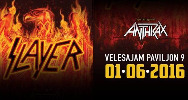 Slayer i Anthrax u Zagrebu