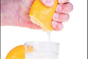 limun u vodi