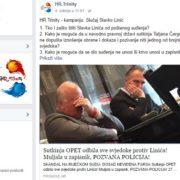 Od SVAKE PLAĆE izdvaja 1000 EURA za promociju tekstova koji otkrivaju korupciju: prvi je LINIĆ!