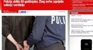 policija prijeti