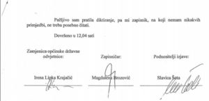 potpisi zapisnik
