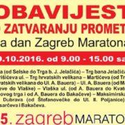 U nedjelju se zbog Zagreb maratona zatvaraju za SAV PROMET ulice u centru grada
