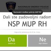 NSP: Odbacujemo neistine koje širi predstavnik Sindikata policijskih službenika