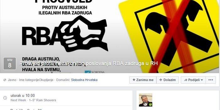 Oštećenici RBA zadruga: Ljudi, DOĐITE NA PROSVJED pred austrijsko veleposlanstvo!