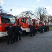 Zagrebački vatrogasci dobili četrnaest novih i rabljenih vatrogasnih vozila