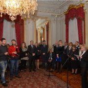 PRIJEM ZA NOVINARE: Predstavnica HNIP-a, a ne HND-a, govorila u ime novinara