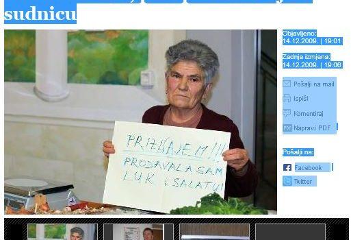 U RH UŽIVAJU GAZITI SLABIJE, zato baku Anku gone jer prodaje peršin, a moćne ne diraju