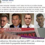 Sladoljev podsjetio: Hrvatska IMA LIJEK ZA RAK, odriče ga se da stranci zarade!