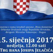 Svečanim koncertom MOJA DOMOVINA Hrvatska slavi četvrt stoljeća samostalnosti