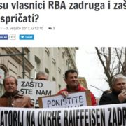 Michael Spitzer: Nije točno da je Raiffeisen Banka iz Austrije vlasnik RBA zadruga