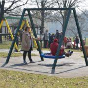 Otvoreno igralište za djecu s posebnim potrebama na otoku Trešnjevka na Jarunu