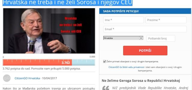 SDP-ov Hajduković dovlači PODRIVAČA SOROSA u Zagreb! Brzo reagirali aktivisti
