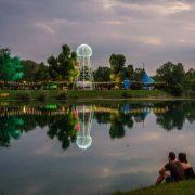 Uz sjajnu atmosferu i lijepo vrijeme počeo jedini svjetski FESTIVAL NA TRI jezerska OTOKA