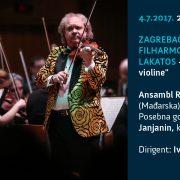 Kralj violine Roby Lakatos i Zagrebačka filharmonija večeras uživo na festivalu Zagreb Classic