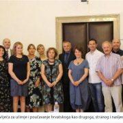 Vijeće za učenje hrvatskoga kao POMOĆ sve brojnijim POVRATNICIMA druge i treće generacije