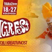 U Varaždinu počeo Špancirfest, program nikad bogatiji