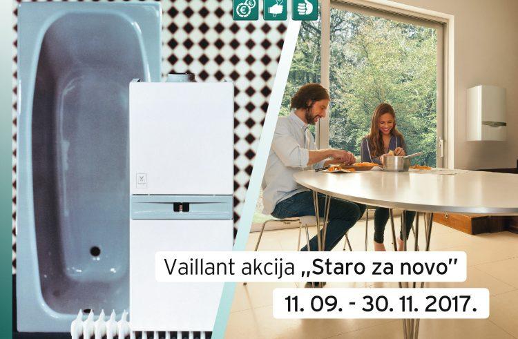 Akcija do 30. studenog: Vaillant vraća i do 1000 kuna pri kupnji novog plinskog kondenzacijskog uređaja