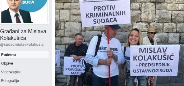 VIDEO: NA ŽENE koje su ustale protiv korumpiranih sudaca, POSLALI INTERVENTNU POLICIJU!