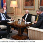 Plenković s Komaricom i Milasom o položaju HRVATA U REPUBLICI SRPSKOJ: udvostručene im potpore