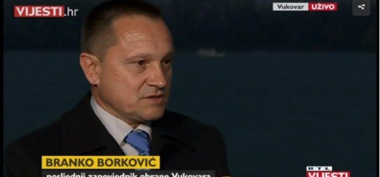 Borković: Slobodane, znan mi je TERET KOJI SI NOSIO; slično je bilo nakon Vukovara, a i danas je isto!
