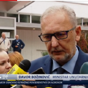 TVRDE DA JE NESPOSOBAN: Sindikat policijskih službenika traži OSTAVKU MINISTRA BOŽINOVIĆA!