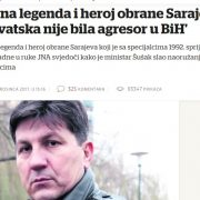 JAKO ME pogodila NEPRAVDA, Hrvatska je spasila BiH, liječila nas, hranila i NE MOŽE biti agresor!