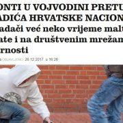 U Vojvodini VRIJEĐALI pa PRETUKLI Hrvate, policija kazneno GONI ŽRTVU, A NE NAPADAČE!