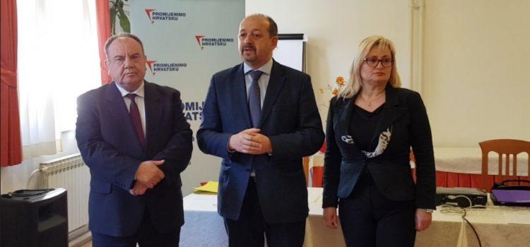 PROMIJENIMO HRVATSKU s novim ograncima u Splitskoj županiji: Riješit ćemo problem blokiranih i Rafinerije Sisak