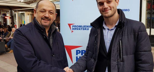 ONI RASTU: Student Mario Okmažić povjerenik je Promijenimo Hrvatsku za Primorsko goransku županiju