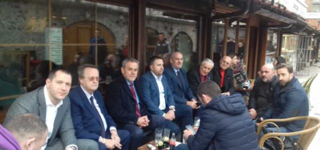 Milan Bandić, kardinal Puljić i gradonačelnik Sarajeva Skaka grade bolje hrvatsko – bosanske odnose