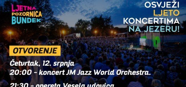 Zbog nogometa, za četvrtak odgođeni koncerti na Bundeku: prvo jazz talenti pa VESELA UDOVICA!