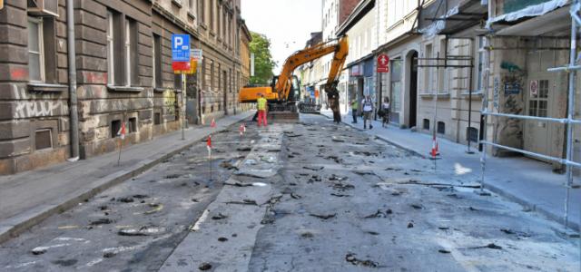 OBNOVA CENTRA: Do jeseni traje sanacija Preradovićeve i drugih ulica Donjeg grada