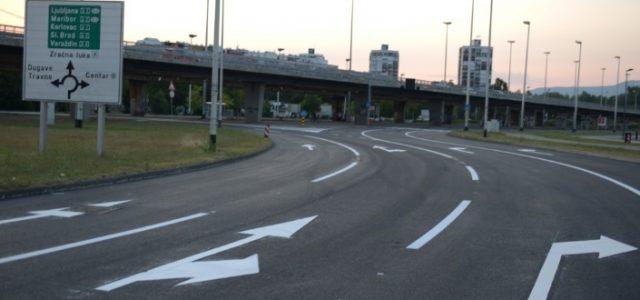 Za promet otvoren obnovljeni rotor na križanju Avenije Dubrovnik i Sarajevske ceste