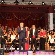 NE DAJU SE GRADIŠĆANSKI HRVATI: Zbor od 150 pjevača i cijela dvorana pjevali hrvatske pjesme