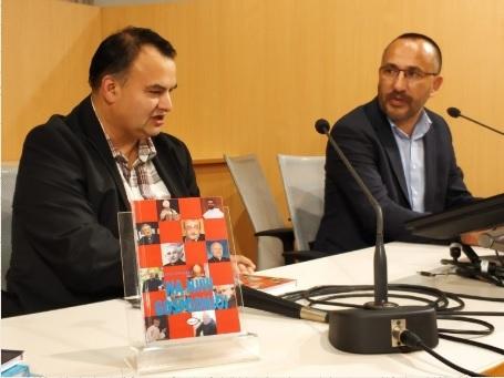 Hrvoje Zekanović u Šibeniku predstavio knjigu intervjua Na njivi Gospodnjoj