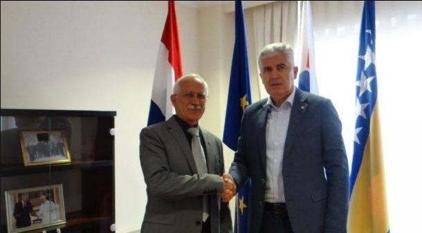 NEVOLJE UJEDINJUJU HRVATE: Sabljo s Čovićem razgovarao o položaju Hrvata u BiH i nužnosti jačeg zbližavanja