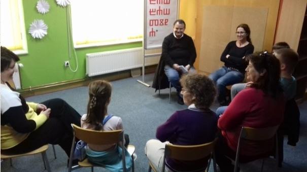 Pranjkić se i u Vukovaru s lakoćom približio učenicima te im predstavio svoju knjigu Leptir Božo