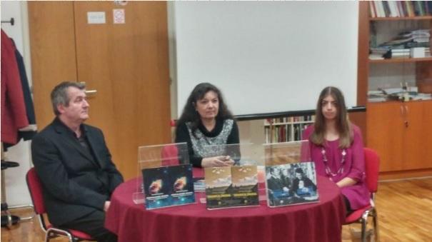 Mlada književna nada, Natalija Boutana, predstavila svoj roman Granica snova