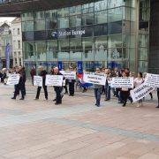 Škibola podržao HRVATSKE PROSVJEDNIKE u EU, oni poručili: Croatia No1 in Koruption!