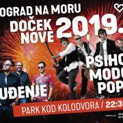 BIOGRAD priprema veliki DOČEK NA OTVORENOM uz Gopca i Psihomodo Pop te grupu Buđenje