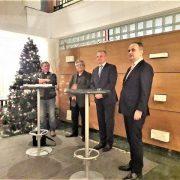 Milas u Beogradu ohrabrio novo vodstvo Hrvatskog nacionalnog vijeća Srbije i obećao podršku RH