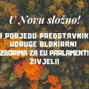 Blokirani idu na izbore: U EU parlamentu možemo SRUŠITI NEMORALNE ZAKONE i vratiti život u RH!
