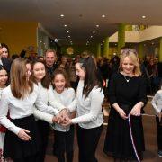Otvorena nova osnovna škola u Hrvatskom Leskovcu; ima tri vanjska igrališta i sportsku dvoranu