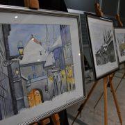 Otvorena izložba slika Zagrebu s ljubavlju makedonskog slikara Grozdanovskog