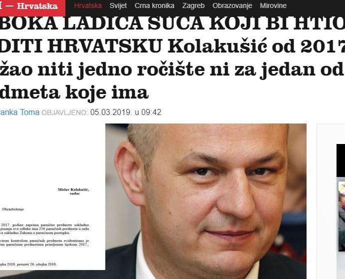 Čitatelji Jutarnjeg mahom stali u obranu KOLAKUŠIĆA, u komentarima pišu: Tko drugi nego Jutarnji list?!