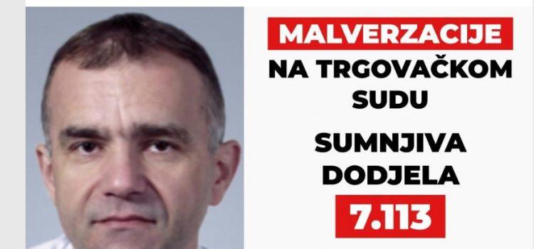 Kolakušićeva udruga kazneno prijavila PREDSJEDNIKA SUDA Radića zbog ručne dodjele 7113 predmeta nekim sucima!