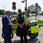 HITNA POMOĆ dobila dva nova motocikla, posebno uspješni u centru grada zbog svoje brzine